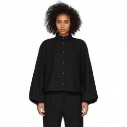 Toteme Black Novale Shirt 201-704-700