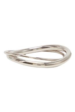 Двойное кольцо с серебрением Lisa Smith 1168170104