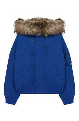 Пуховая куртка с капюшоном Polo Ralph Lauren 313760842