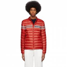Moncler Red Down Retro Renauld Jacket 1A1040053279448
