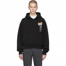Off-White Black F Building Hoodie OMBB037R20E300071088