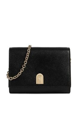 Черная сумка 1927 на цепочке Furla 1962169627