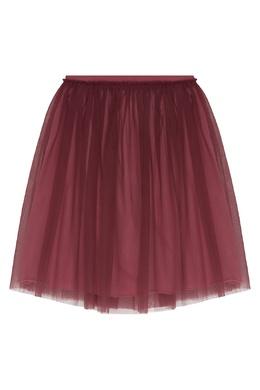 Пышная розовая юбка Il Gufo 1205170216