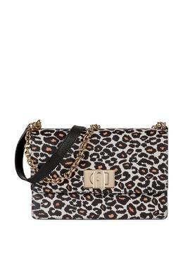 Леопардовая сумка с клапаном 1927 Furla 1962169811