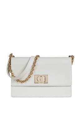 Белая прямоугольная сумка 1927 Furla 1962169789
