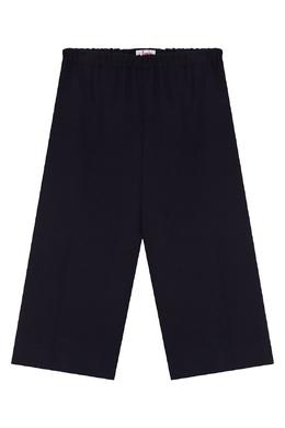 Синие брюки на поясе-резинке Il Gufo 1205170231