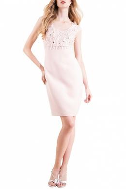 Коктейльное платье с пайетками Luisa Spagnoli 3090170740