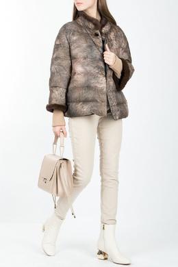 Двусторонняя куртка с мехом Luisa Spagnoli 3090170810