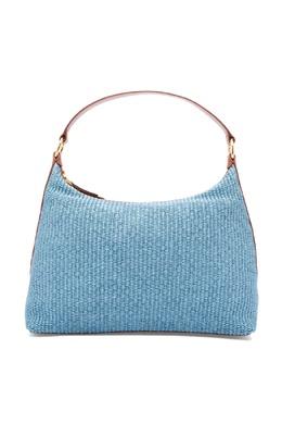 Текстильная сумка хобо Luisa Spagnoli 3090170789