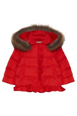 Красная куртка с отделкой Il Gufo 1205170283