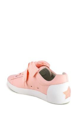 Розовые кожаные кеды Ash 6169776