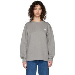 Acne Studios Grey Fairview Face Sweatshirt 2HL173