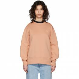 Acne Studios Pink Fairview Face Sweatshirt 2HL173