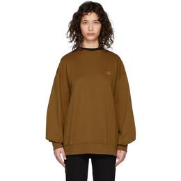 Acne Studios Brown Forba Face Sweatshirt CI0010-