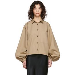 Toteme Beige Novale Shirt 201-704-701