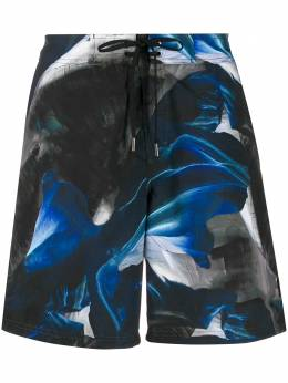 Ermenegildo Zegna плавки-шорты с графичным принтом N7B73097