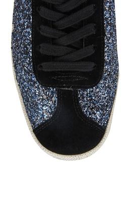 Черно-синие кеды Ash 6171162