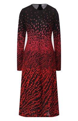 Платье с принтом Givenchy BW20NK30EV
