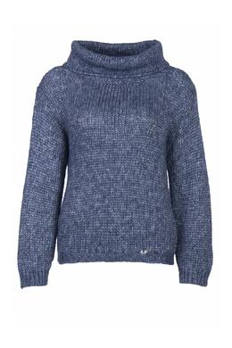Серо-синий свитер Luisa Spagnoli 3090170310