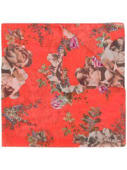 Preen By Thornton Bregazzi платок с цветочной вышивкой 020803
