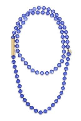 Колье фиолетового цвета Luisa Spagnoli 3090170197