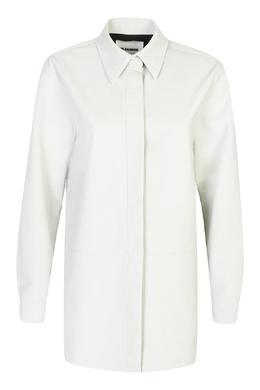Рубашка светло-серого оттенка Jil Sander 413171730