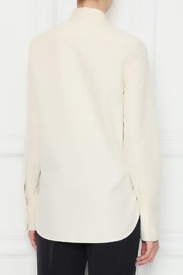 Кремовая рубашка из хлопка Jil Sander 413171695