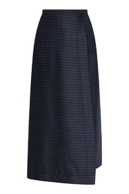 Синяя юбка с запахом в полоску Antonio Marras 1574171303