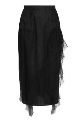 Черная юбка-карандаш с ажурным узором Antonio Marras 1574171331