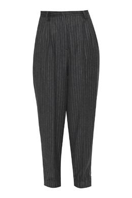 Серые брюки из смешанной шерсти с узором полоска Antonio Marras 1574171341
