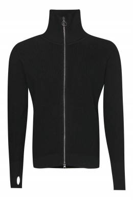 Черный шерстяной кардиган Barena 2831172916