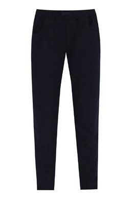 Темно-синие брюки с карманами Il Gufo 1205172598