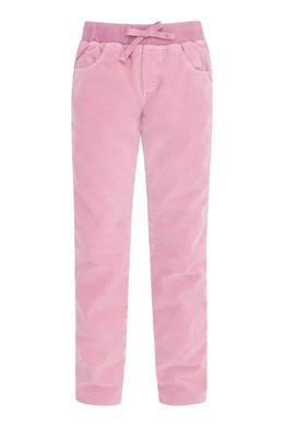 Розовые вельветовые брюки на мальчика Il Gufo 1205172594