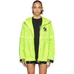 Off-White Yellow WR Top Shell Jacket OMVC002R20D160296210