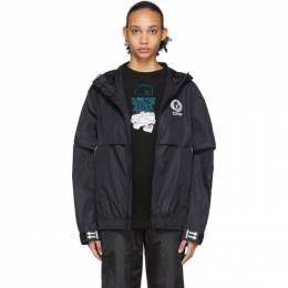 Off-White Black WR Top Shell Jacket OMVC002R20G450291091