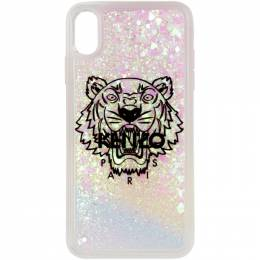 Kenzo White and Pink Tiger iPhone XS Max Case F96COKIXPTXL