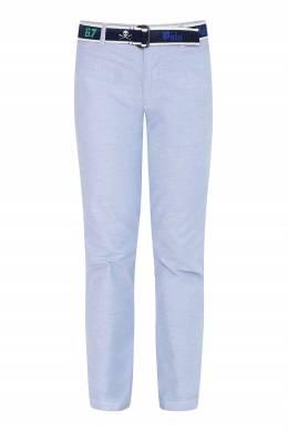 Хлопковые брюки с ремнем Ralph Lauren Kids 1252173314
