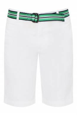 Белые шорты с ремнем Ralph Lauren Kids 1252173312