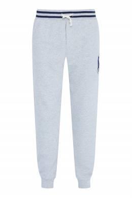 Трикотажные брюки с логотипом бренда Ralph Lauren Kids 1252173474