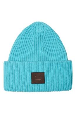 Голубая шапка Pansy N Face Acne Studios 876171474