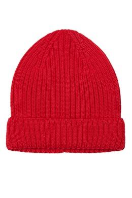 Красная шапка бини в рубчик Blank.Moscow 92172843