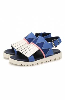 Кожаные сандалии Marni 64510/28-35