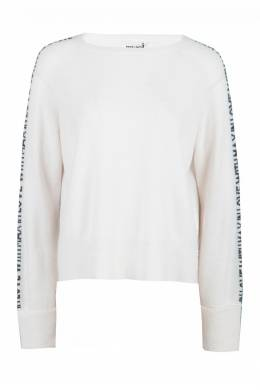 Трикотажный белый костюм в спортивном стиле Max & Moi 2919174215