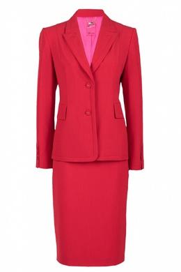 Красный костюм с узкой юбкой Blumarine 533174300