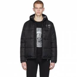 Moschino Black Logo Puffer Jacket 0614 2014