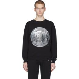 Moschino Black Coin Sweatshirt 1723 2027