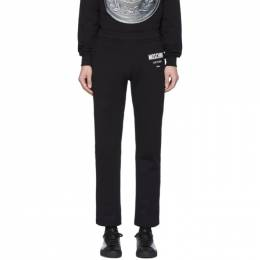Moschino Black Couture Lounge Pants 0340 2027