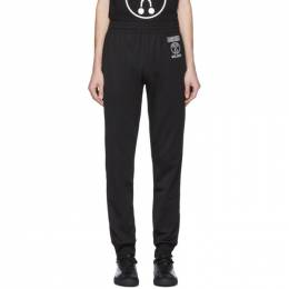 Moschino Black Double Question Mark Lounge Pants 0331 2029