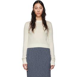 Jil Sander Off-White Jil Sanderand Crewneck Sweater JPPQ752505 WQY20048