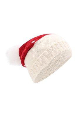 Кашемировая шапка с помпоном из меха лисы Loro Piana FAI4681